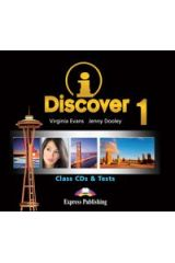 iDiscover 1 Class Audio CDs & Tests (set of 2)