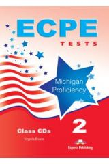 ECPE Tests Michigan Proficiency 2 Class Audio CDs (set of 4)