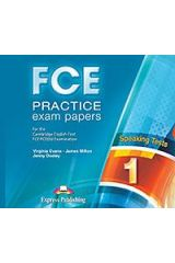 FCE Practice Exam Papers 1 Speaking Audio CDs (set of 2) - For the Updated 2015 Exam!