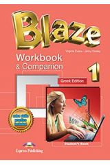 Blaze 1 Workbook and Companion Student's