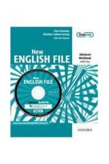 New English File Advanced Workbook with Key (+Multi-Rom)
