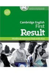 Cambridge English First Result Workbook wth Key (+Audio CD) (2015)