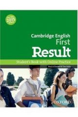 Cambridge English First Result Student's Book (+ONLINE PRACTICE TESTS) (2015)