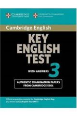 Cambridge Key English Test 3 Student's Book With Answers
