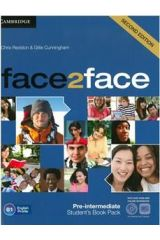 Face2Face Pre-Intermediate Student's Book + dvd+online workbook 2nd edition