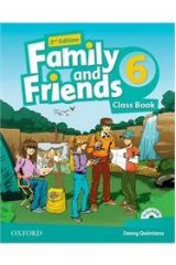 Family and Friends 6 Student's book (+Multi Rom) 2nd ed.