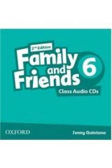 Family and Friends 6 Class Cds (2) 2nd ed.