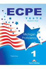 Ecpe 1 Tests For The Michigan Proficiency Students Book New