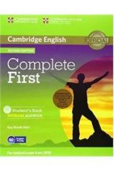 Complete First Student's Pack + WB + CD + CD-ROM WO/A 2ND ED