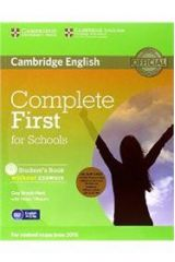 Complete First for Schools Student's Pack + WB + CD + CD-ROM WO/A 2ND ED