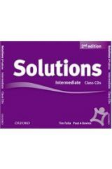 Solutions Intermediate Class Cds 3 2nd Edition