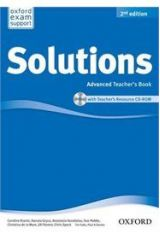 Solutions Advanced Teacher's Book + CD-ROM 2nd Edition
