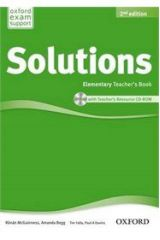 Solutions Elementary Teacher's Book + CD-ROM 2nd Edition