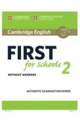 Cambridge English First for Schools 2 Student's book