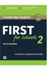 Cambridge English First for Schools 2 Student's Pack with Answers + Downloadable Audio
