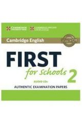Cambridge English First for Schools 2 Cds 2