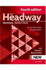 New Headway Elementary Teacher's book + TCHR'S RESOURCES DISC 4th Edition