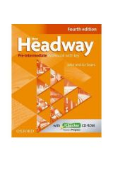 New Headway Pre Intermediate Workbook with KEY + iCHECKER 4th Edition