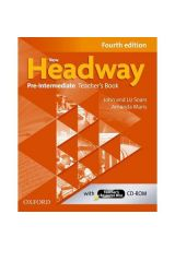 New Headway Pre Intermediate Teacher's book + TCHR'S RESOURCES DISC 4th Edition