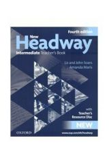 New Headway Intermediate Teacher's book + TCHR'S RESOURCES DISC 4th Edition