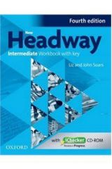 New Headway Intermediate Workbook with KEY + iCHECKER 4th Edition