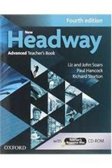 New Headway Advanced Teacher's book + TCHR'S RESOURCES DISC 4th Edition