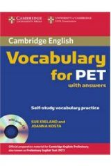 Vocabulary for PET with Answers (+ CD)