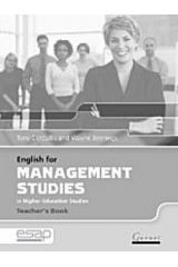 English for Management Studies in Higher Education Studies teacher's book