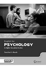 English for Psychology in Higher Education Studies teacher's book