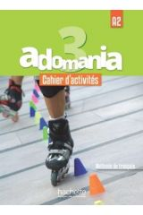 Adomania 3 A2 Cahier (+ CD AUDIO + PARCOURS DIGITAL)