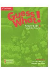 Guess What 3 Activity book ( + ON LINE RESOURCES)