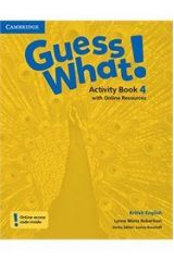 Guess What 4 Activity book ( + ON LINE RESOURCES)