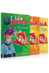 I like Junior A Πακέτο με Ibook ή Cds + REVISION BOOK