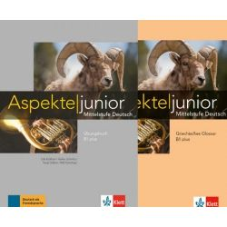 Aspekte junior B1 plus Ubungsbuch mit Audios zum Download + Griechisches Glossar