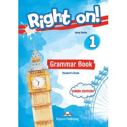 Right On 1 Grammar Student's Book (GR) (with DigiBook App.)