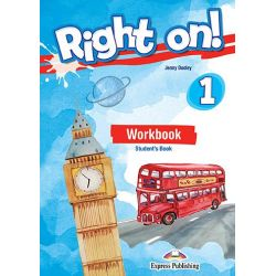 Right On 1 Workbook Student's Book (with DigiBook App.)