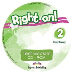 Right On 2 Test Booklet CD-ROM