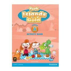 York Islands Gold Junior A Activity book (+ STICKERS)