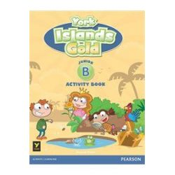York Islands Gold Junior B Activity book (+ STICKERS)