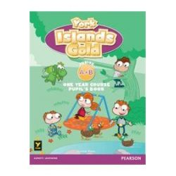 York Islands Gold Junior A+B Student's book (+ CUT-OUTS & E-BOOK )