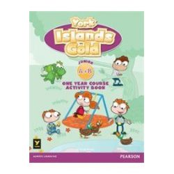 York Islands Gold Junior A+B Activity book (+ STICKERS)