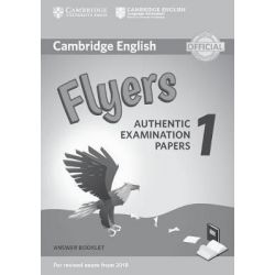 Cambridge English Flyers 1 Answer Booklet (Revised EXAM 2018)