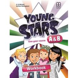 Young Stars A + B Workbook + CD