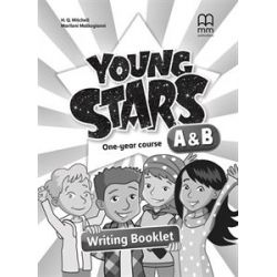 Young Stars A + B Writing booklet