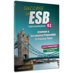 Success in ESB B2 15 PRACTICE TESTS + 2 SAMLE PARERS
