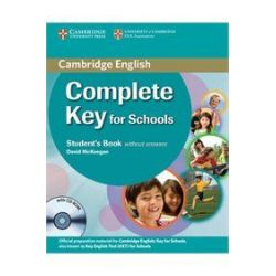 Complete Key for Schools Student's book (+CD Rom)