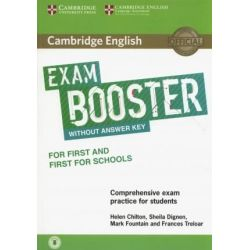 Cambridge English Exam Booster first + first for schools (+ Audio)