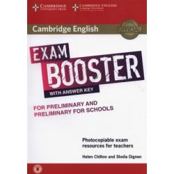 Cambridge English Exam Booster Preliminary + Preliminary for schools with answer key (+ Audio)