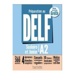 Delf Scolaire et Junior A2 Methode (+DVD)