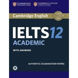Cambridge English IELTS 12 Academic Self Study Pack